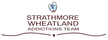 strathmore wheatland addictions team logo