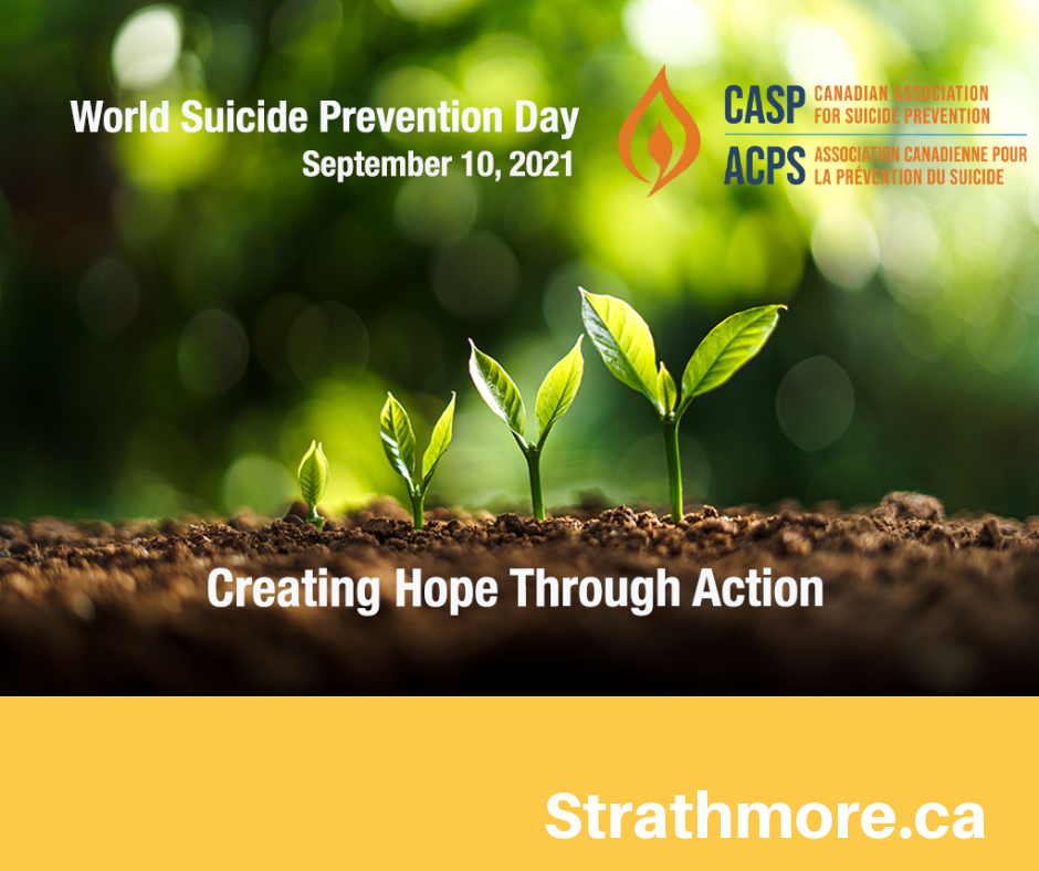 World Suicide Prevention Day Graphic